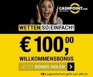Cashpoint Wetten